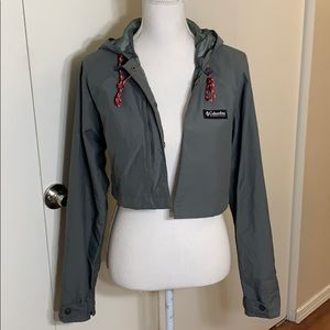 Columbia crop jacket